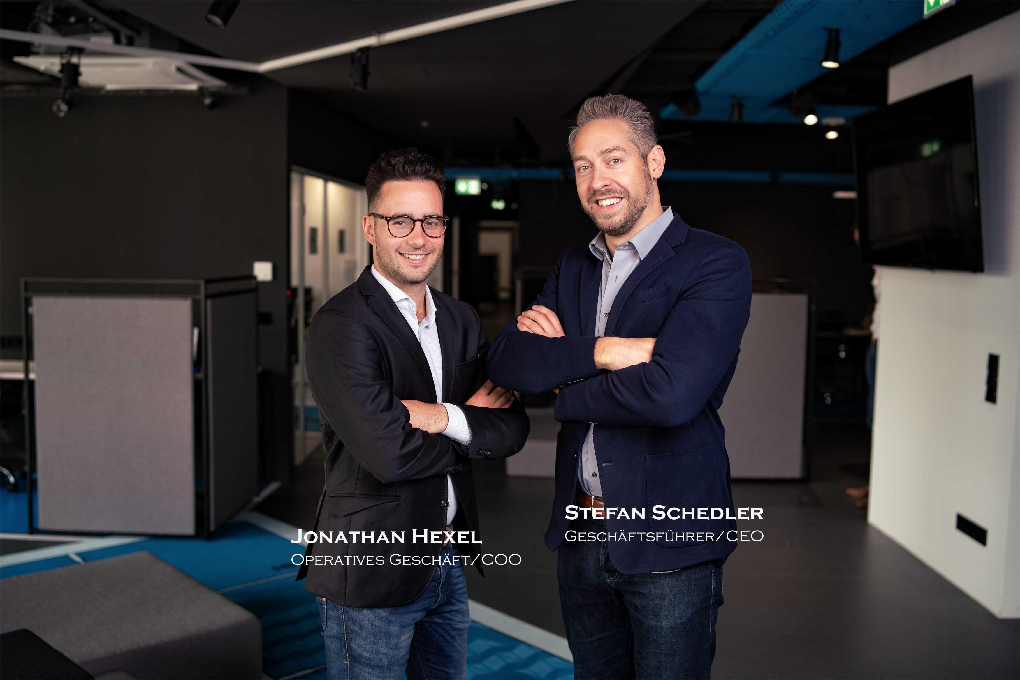 Die Löwen Stefan Schedler und Jonathan Hexel